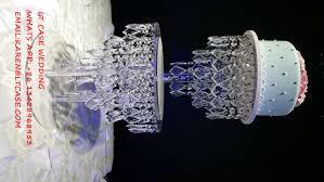 aliexpress com buy acrylic crystal wedding cake stand wedding