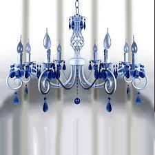 blue crystal chandelier light milan modern white crystal chandelier 9390 free ship browse