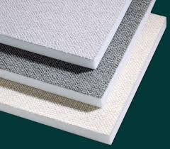 Sound Absorbing Ceiling Panels by Fabtec Flexible Fabric Faced Acoustical Foam Acoustical Panels