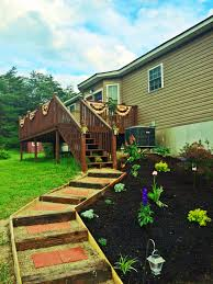 Lowes Pebble Rocks by Inexpensive Walkway Steps Using Railroad Ties Pebble Stones And