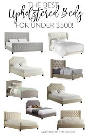 Padded Bed Headboard by Best 25 Upholstered Beds Ideas On Pinterest Grey Upholstered