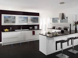 Black Stained Kitchen Cabinets Kitchen Modern White Studio Kitchenette Sets Furniture