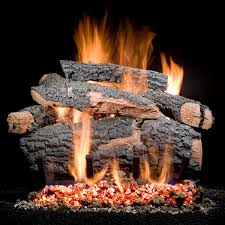 golden blount 30 inch big tex vented natural gas log set match