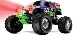traxxas monster jam trucks traxxas 30th anniversary grave digger race replica rc truck stop
