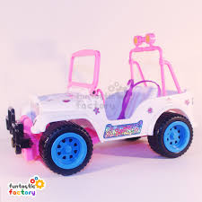 jeep toy barbie convertible jeep buggy funtastic factory