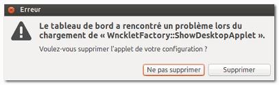 probleme icone bureau ubuntu résoudre le problème de chargement de l icône desktop