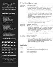Desktop Support Engineer Resume Samples by Support Engineer Resume Samples Visualcv Resume Samples Database