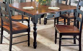 two tone dining room tables bowldert com