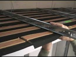 Wood Slat Ceiling System by Woodworks Linear Installation Youtube