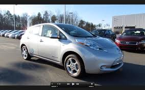 nissan leaf zero emission 2011 nissan leaf sl power up engine test drive and in depth