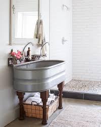 bathroom sink copper sink trough sink bathroom vanity farmhouse