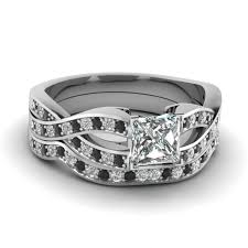 black and pink wedding rings wedding rings black and pink wedding ring sets black
