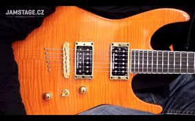 Sunset Orange by Jackson Custom Shop Soloist Sl2ht Fmt Sunset Orange Pavel Marcel