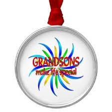 special grandson ornaments keepsake ornaments zazzle