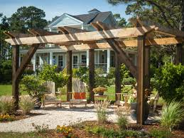 How To Build A Covered Pergola by Pergola Pictures From Blog Cabin 2013 Diy Network Blog Cabin