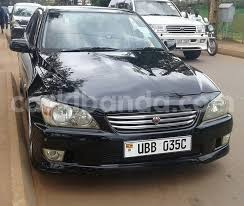 altezza car black buy used toyota altezza black car in busia in uganda carkibanda