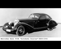 benz 540k streamlined w29 1938