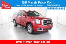 gmc yukon red gmc yukon xl sle 2 in michigan for sale used cars on buysellsearch