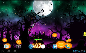 free live halloween wallpaper night scene live wallpaper android apps on google play
