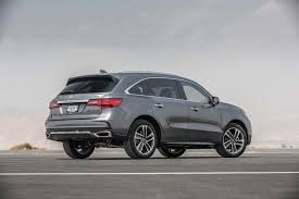 acura mdx vs lexus rx 350 2017 acura mdx first test review motor trend