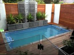 small yard pool picture collection of small pool designs for small yards youtube