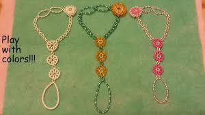 free bead bracelet patterns images Tutorial sunflower daisy slave bracelet beaded fastening jpg