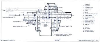 star trek enterprise floor plans star trek blueprints general plans mk xii robot cargo ship ncc