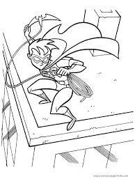 robin and batman coloring pages coloring pages dessincoloriage
