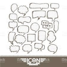 speech bubble hand drawn speech bubble hand drawn design stock vector art 840565786 istock