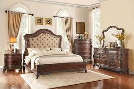 upholstered bedroom set buy homelegance bonaventure park upholstered bedroom set with king