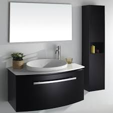 witching bathroom sinks and cabinets small using black painted