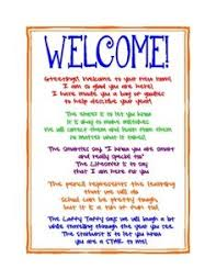 10 best images of welcome letter preschool class welcome back