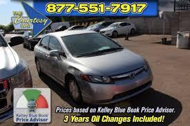 2006 honda civic blue book honda civic hybrid sedan in arizona for sale used cars on