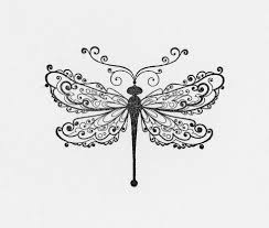 dragonfly outline template