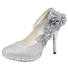 Wedding Shoes Amazon Silver Lace Wedding Shoes Amazon Com