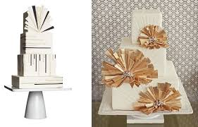 art deco wedding cakes cake geek magazine