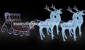 Outdoor Christmas Decorations Santa And Reindeer by Acrylic Outdoor Christmas Decorations Christmas2017