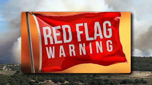 Burning Red Flag Red Flag Warning In Place For Santa Barbara Ventura Counties Keyt