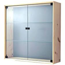 wood curio cabinet with glass doors wall mounted display case ikea wall mounted curio cabinet display