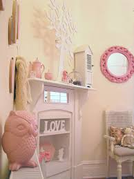 Girls Shabby Chic French Bedroom Vintage Pastel Pink Pram Shutters - Girls shabby chic bedroom ideas