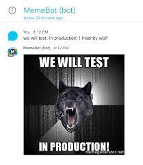 Insanity Wolf Meme Generator - spark depot memebot