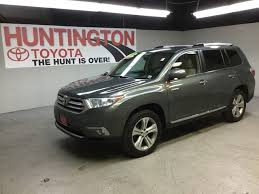 certified toyota highlander certified pre owned 2013 toyota highlander limited sport utility
