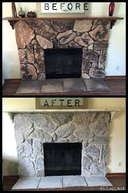 fireplace beautiful stone fireplace paint for house pictures of