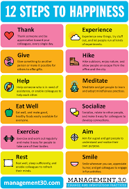 12 ways to be happy and a happy happy melly
