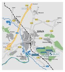 Local Map Forschungszentrum Jülich How To Reach Us