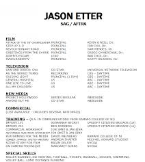 acting resume examples for beginners actor resume sample beginner