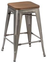 Steampunk Bar Stools Hobbins Stools Set Of 4 Industrial Bar Stools And Counter