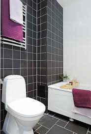 Black And White Bathroom Decorating Ideas Black White And Purple Bathroom Ideas Living Room Ideas