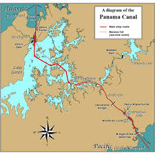 location canap panama canal facts how does the panama canal work