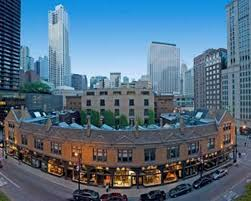 Chicago State Street Shopping Map by Embassy Suites Chicago Downtown Chicago Il 600 North State 60654